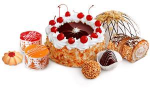 Набор пирожных Корзиночка с клубникой 2 шт/220гр/СПС