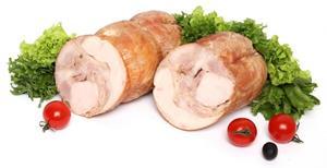 Рулет куриный из мяса птицы с сыром жареный, вес/СП