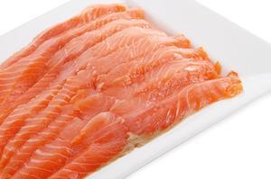 Рыба Кета стейк, вес/СП