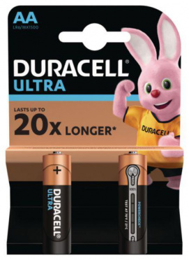 Батарейка DURACELL Ultra Power AA 2шт/10