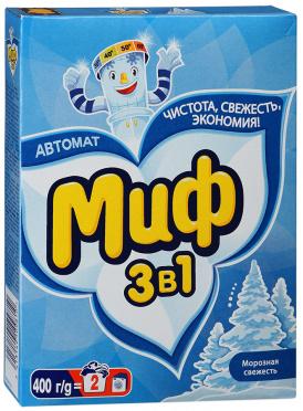 Стир порошок автомат МИФ Морозная свежесть 400г/22