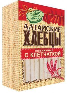 Хлебцы Алтайские пшеничные 75г/16