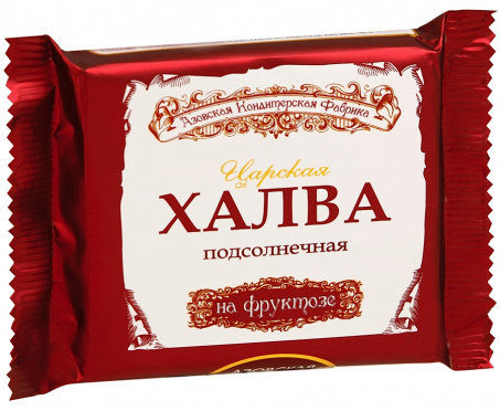 Халва АКФ на фруктозе Царская подсолнечная 180г/20
