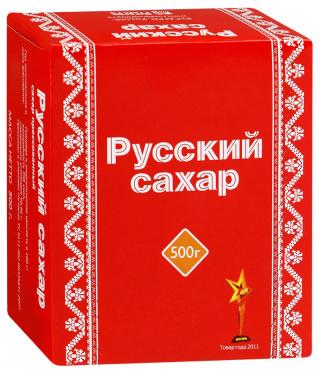 Сахар-рафинад РУССКИЙ 500г/40
