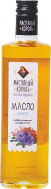 Масло льняное МАСЛЯНЫЙ КОРОЛЬ 350мл ст/б/10