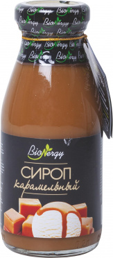 Сироп BioNergy 0,25л Карамель ст/б/10
