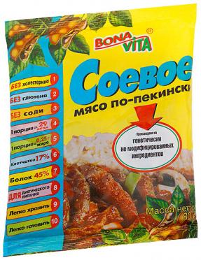 Соевое мясо Мясо по-пекински 80г/20