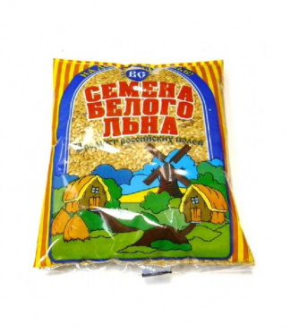 Семена льна белые 200г/50/Васильева Слобода