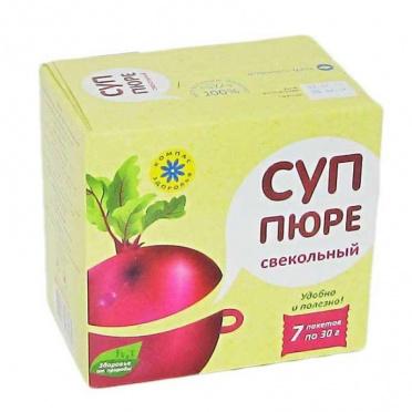 Суп-пюре Свекольный 30г/10/Компас здоровья