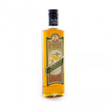 Масло горчичное Масляный король 350мл ст/бут/10