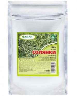 Напиток чайный травяной Биолит  Солянка холмовая 100г/25