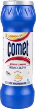 Чистящее ср-во КОМЕТ порошок Лимон без хлоринола 475гр/20