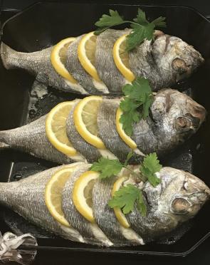 Рыба Сибас для запекания дефрост., вес/СП