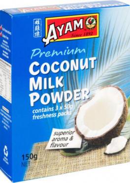 Молоко кокосовое Ayam сухое 150г карт/уп/8
