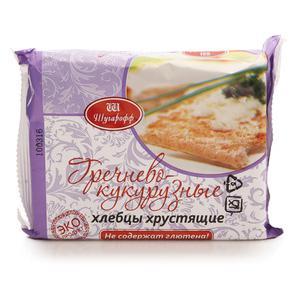 Хлебцы Шугарофф гречнево-кукурузные безглютен 60гр/51