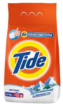 Стир порошок автомат ТАЙД Альпийская свежесть 3кг/6