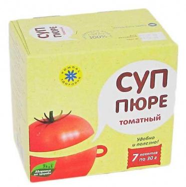 Суп-пюре Томатный 30г/10/Компас здоровья