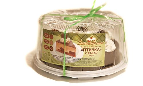 Торт Птичка с какао, вес/СПС