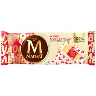 Мороженое Инмарко Магнат Манго и Красные ягоды эскимо 74г/24/Инмарко/БЗМЖ
