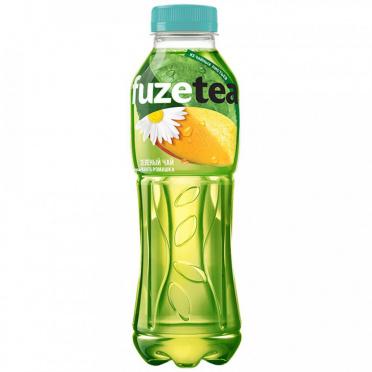 """Напиток """"К-К"""" Фьюз 0,5л Чай холодный зеленый со вкусом манго и ромашки пэт/12"""