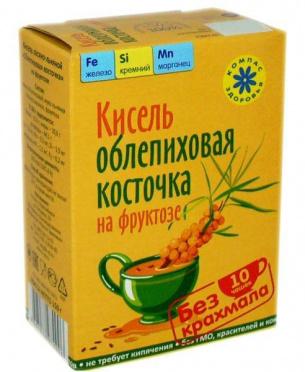 Кисель Облепиховая косточка 150г/40