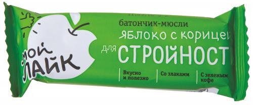 Батончик яблоко с корицей для стройности 25г/30/Леовит