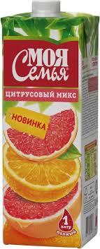 Нектар МОЯ СЕМЬЯ 0,95л Апельсин- Вкуснотин т/п/8