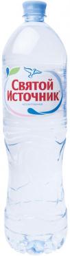 Вода питьевая СВЯТОЙ ИСТОЧНИК 1,5л без газа пэт/6