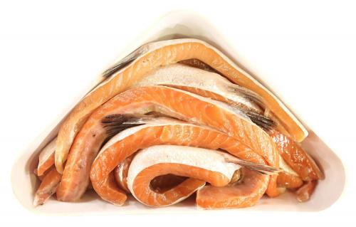 Рыба Сёмга теша с/с, вес/СПС