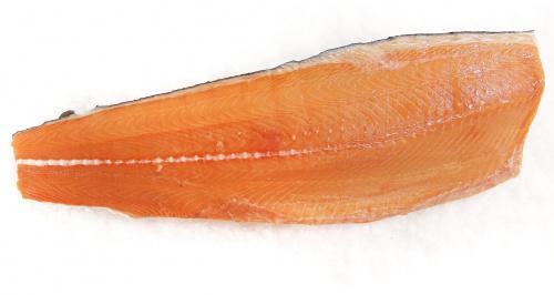 Рыба Сёмга филе на коже дефрост., вес/СП