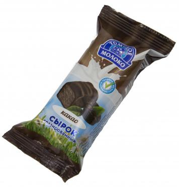 Сырок творожный Томское молоко 23% с какао 40г флоу-пак/32/БЗМЖ