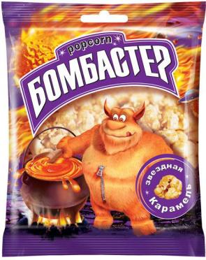 Попкорн Бомбастер карамель 50г/46