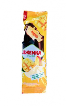 Мороженое Джемка Йогуртная  Манго в глазури эскимо 57г/32/Инмарко/БЗМЖ