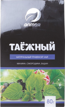 Чай АЛТЭЯ травяной Таежный 80г к/кор/10