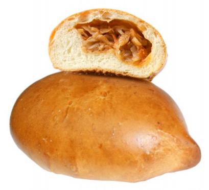 Пирожок с капустой 80г/ПФ