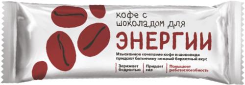 Батончик Кофе с шоколадом для энергии 25г/30/Леовит