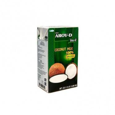 Молоко Кокосовое 60% жир 17% 1л TetraPak/12 AROY-D
