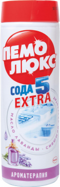 Чистящее ср-во ПЕМОЛЮКС порошок Аромотерапия Лаванда 480г/36