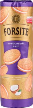 Печенье FORSITE Сахарное кокосовое 208г/20