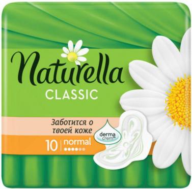 Прокладки НАТУРЕЛЛА Classic Camomile Normal Single 9шт/24