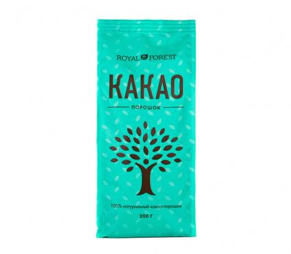 Какао-порошок натуральный 200гр/12