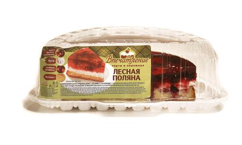 Торт Лесная полянка 1/2, вес/СПС