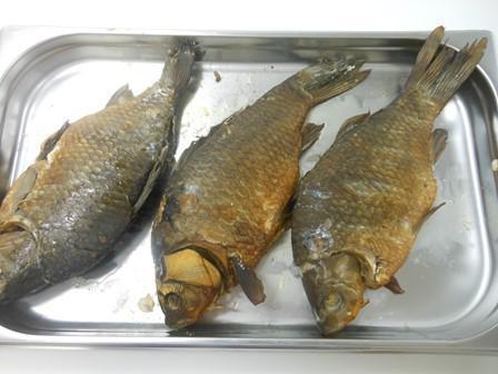 Рыба Карась тушка г/к,вес/СП