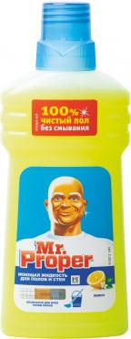 Чистящее ср-во МИСТЕР ПРОПЕР Лимон 500мл/20