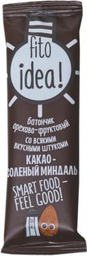 Батончик Фитоидея какао соленый миндаль 25г/20