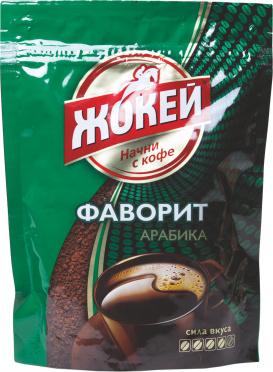 Кофе ЖОКЕЙ Фаворит растворимый гранулированный 75г м/у/12