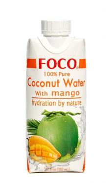 Кокосовая вода Foco с манго натур б/сахара 330мл TetraPak/12