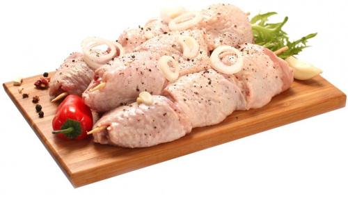 Шашлык куриный из красного мяса в маринаде, вес/СП