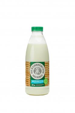 Молоко Межениновское Молоко 2,5% 900г пл/бут/6/БЗМЖ